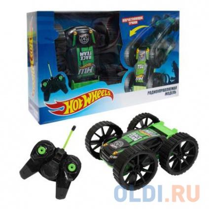 Фото «Машинка на радиоуправлении 1toy Hot Wheels черно-зеленый от 3 лет пластик Т10978» в Санкт-Петербурге