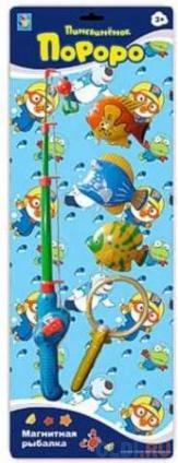 """Фото «Интерактивная игрушка 1Toy """"Магнитная рыбалка"""" - Пингвиненок Пороро от 3 лет Т59708» в Новосибирске"""
