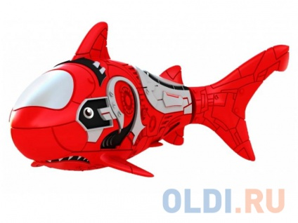 Фото «Интерактивная игрушка ZURU RoboFish акула плавает в воде от 3 лет красный» в Санкт-Петербурге