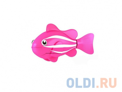Фото «Интерактивная игрушка ZURU Robofish Клоун электронная рыба робот от 3 лет розовый 2501-2» в Санкт-Петербурге
