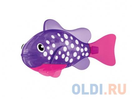 Фото «Интерактивная игрушка ZURU РобоРыбка Биоптик от 3 лет фиолетовый 2541E» в Екатеринбурге