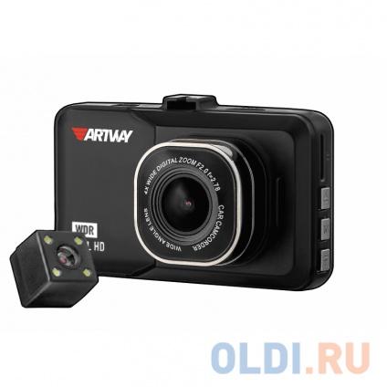 "Фото «Видеорегистратор Artway AV-394 с двумя камерами 3""/120°/1920x1080 Full HD/мониторинг парковки» в Санкт-Петербурге"