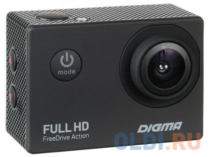 Фото «Видеорегистратор Digma FreeDrive Action Full HD черный 1.2Mpix 1080x1920 1080p 140гр.» в Санкт-Петербурге