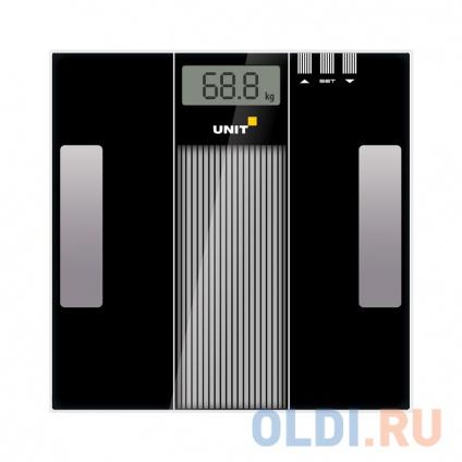 Фото «Весы напольные электронные UNIT UBS-2210 (Цвет: Чёрный)» в Санкт-Петербурге