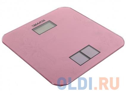 Фото «Электронные напольные весы MARTA MT-1663 розовый» в Новосибирске