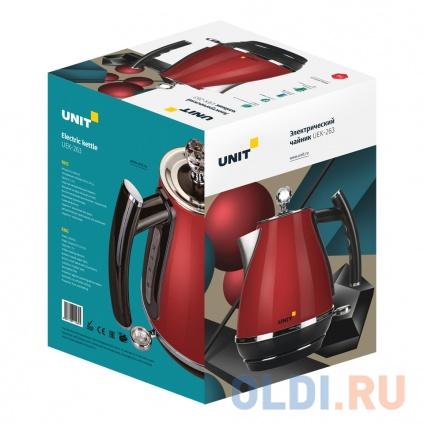 Фото «Чайник электрический UNIT UEK-263, цвет - Бронзовый металлик» в Санкт-Петербурге