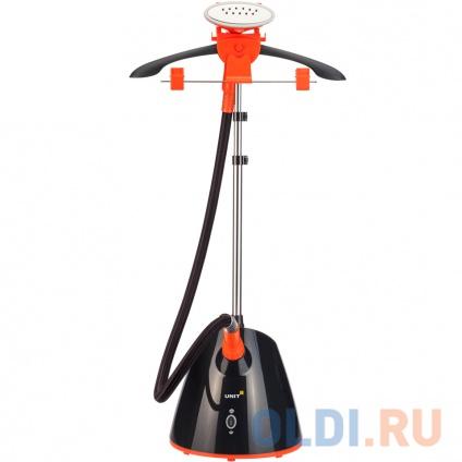 Фото «Отпариватель для одежды UNIT UGS-126, Цвет: черно-оранжевый» в Санкт-Петербурге
