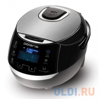 Фото «Мультиварка Polaris EVO 0225 860 Вт 5 л черный серебристый» в Санкт-Петербурге