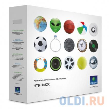 Комплект спутникового телевидения НТВ+ HD Simple Сибирь Старт без антенны