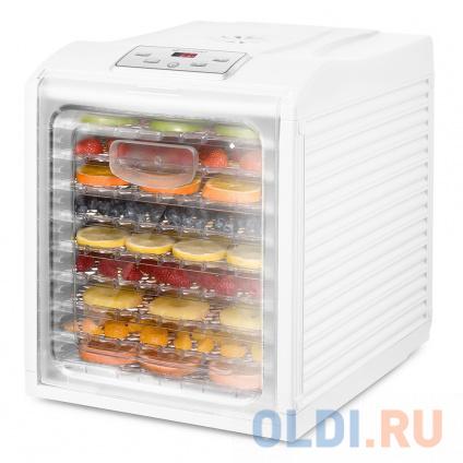 Фото «Сушилка для овощей и фруктов Kitfort КТ-1909 Мощность: 600–700 Вт Размер поддонов: 300 х 320 мм.» в Новосибирске
