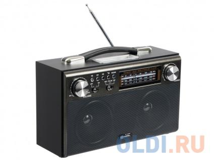 Фото «Радиоприемник HARPER HDRS-033 black (USB; SD карта; радио)» в Новосибирске