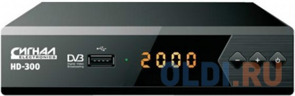 Тюнер цифровой DVB-T2 Сигнал HD-300