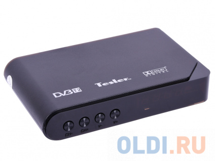 Фото «Цифровой телевизионный DVB-T2 ресивер TESLER DSR-710 [DVB-T2/T, HDMI, PVR, TimeShift, AAC, MP3, HE-AAC, WMA, телетекст и субтитры,USB(MPEG/MKV/JPEG)]» в Екатеринбурге