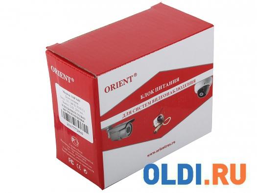 Фото «Блок питания для видеокамер Orient SAP-04N, OUTPUT: 12V DC 2000mA» в Москве