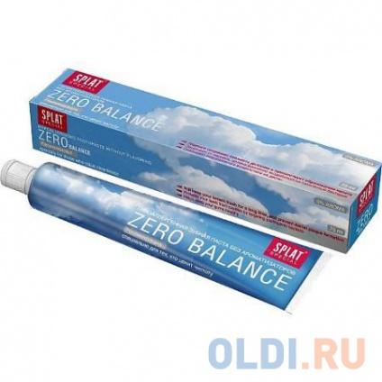 Фото «SPLAT Зубная паста Special Зеро баланс 75мл» в Москве