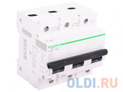 Фото «Автоматический выключатель Schneider Electric C120N 3П 80A C A9N18365» в Нижнем Новгороде