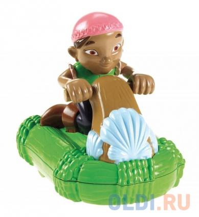 Фото «Инерционная игрушка для ванны Fisher Price Джейк и пираты Нетландии Х1219 B0662» в Москве