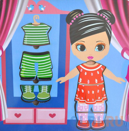 Фото «Пазл Wood Toys рамка-вкладка Гардероб» в Ростове-на-Дону