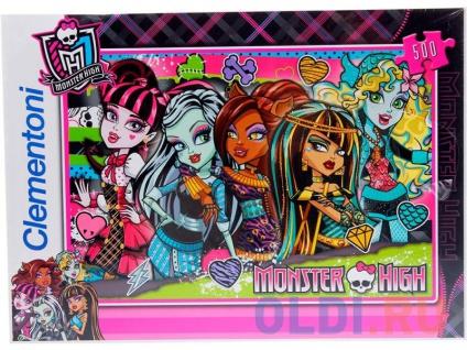 Фото «Пазл 500 элементов Monster High Странные и шикарные 30119» в Ростове-на-Дону