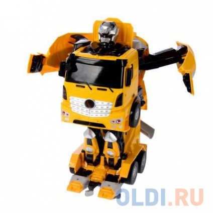 Фото «1toy робот на р/у, трансформируется в бетономешалку, со светом и звуком,   38см, коробка» в Ростове-на-Дону