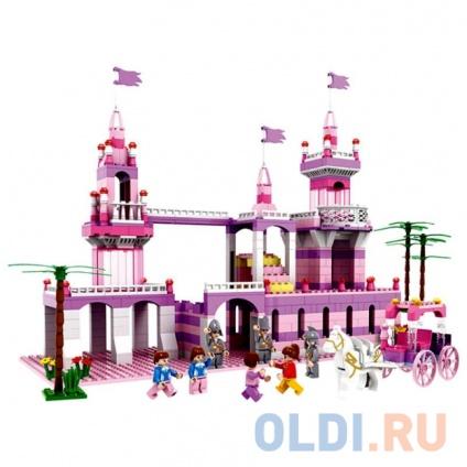 Фото «Конструктор 1Toy Маленькая Принцесса 600 элементов Т57008» в Ростове-на-Дону