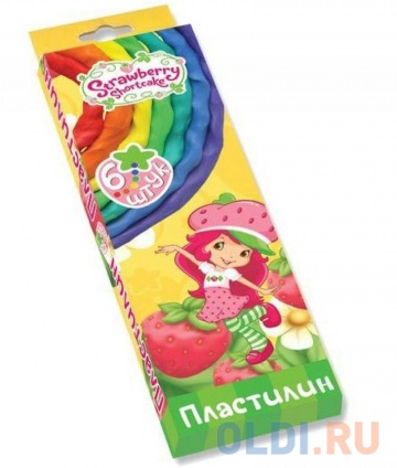 Фото «Набор пластилина Action! STRAWBERRY SHORTCAKE 6 цветов SW-MC6-60» в Екатеринбурге