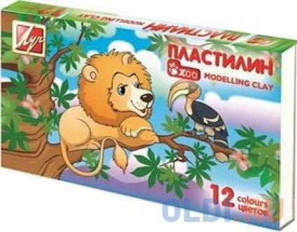 Фото «Пластилин /ЗОО/ (МИНИ), 12 цв, в карт. уп-ке» в Екатеринбурге