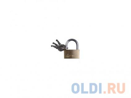 Фото «Замок Зубр MASTER латунный на карточке 3 ключа 60мм 3710-60_z01» в Екатеринбурге