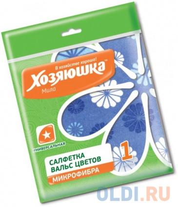 Фото «Салфетка универсальная Вальс цветов Хозяюшка Мила 04027» в Москве