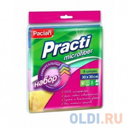 Фото «PACLAN Набор универс.салфеток Micro 30х30см 4шт/уп» в Москве