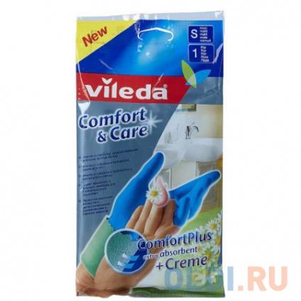 Фото «ВИЛЕДА Перчатки Комфорт с кремом для чувствительной кожи S» в Москве