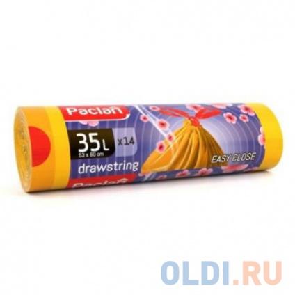 Фото «Paclan Мешки для мусора с завязками Aroma 35л 14 шт» в Москве