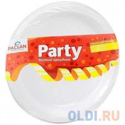 Фото «PACLAN Party Тарелка из полистирола 170мм 12шт» в Москве