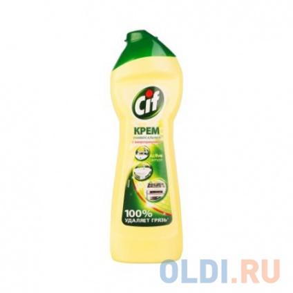 Фото «CIF Чистящий крем Актив Лимон 250мл» в Москве