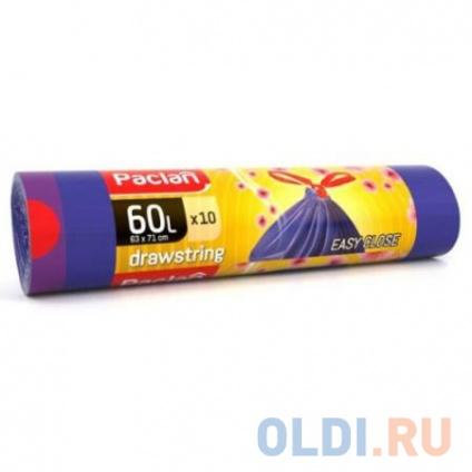 Фото «Paclan Мешки для мусора с завязками Aroma 60л 10 шт» в Москве