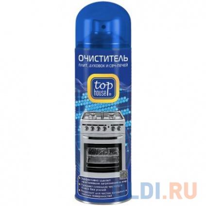 Фото «TOP HOUSE Очиститель суперэффективный для лит/духовок/СВЧ аэрозоль 500мл» в Москве