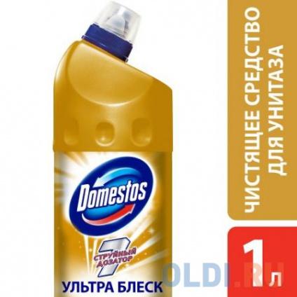 Фото «DOMESTOS Средство чистящее для унитаза Ультра блеск 1л 67068933» в Москве