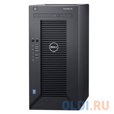 "Фото «Сервер Dell PowerEdge T30 E3-1225v5 (3.3GHz) 4C, 8GB (1x8GB) 2133MHz UDIMM, (2)x1TB SATA 7200 rpm 3.5"" HDD (up to 4x3.5""), SATA RAID, DVDRW, i219 1GbE, AMT 11.0, PS 290W, Tower, 1Y NBD» в Ростове-на-Дону"