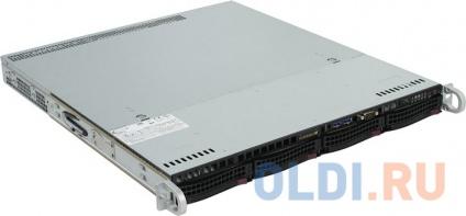 Фото «Сервер SERVER R11C2 OLDI Computers 1U, E3-1230v6, 8GB 2400Mhz ECC, (2)x1TB SATA 7200 HotPlug HDD (up to 4x3.5), SATA RAID, 2x1GbE, 350W, Rails, 3Y» в Москве