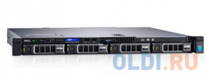"Фото «Сервер Dell R330 E3-1230v6, No Memory, no HDD (up to 4x3.5""), PERC H330, DVDRW, 2x1GbE, iDRAC8 Ent, (1)x 350W (up to 2), Bezel/Rails, 3y NBD, 210-AFEV/057» в Ростове-на-Дону"