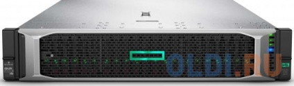Фото «Сервер HPE Proliant DL380 Gen10, 1x3106 (1.7Ghz) 8C, 1x16GB, 2x300GB SAS 10k(24x2.5), SAS3 P408ia/2GB FBWC, DVDRW, 4x1GbE, iLOStd, 1x500W(up2), 3-3-3 W» в Екатеринбурге