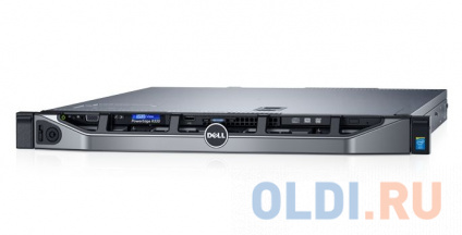 Фото «Сервер Dell PowerEdge R330 E3-1230v6, 1x16GB, no HDD (upto 4x3.5 HotPlug), SAS3 H330 (RAID 0-50), DVDRW, 2x1GbE, iD8 Ent, 1x 350W (up 2), Rails,3Y NBD» в Санкт-Петербурге