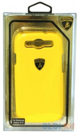 Фото «Пластиковый чехол для Samsung Galaxy S3 iMOBO Lamborghini Diablo Yellow» в Москве