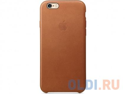 Фото «Чехол (клип-кейс) Apple Leather Case для iPhone 6 iPhone 6S коричневый MKXT2ZM/A» в Ростове-на-Дону