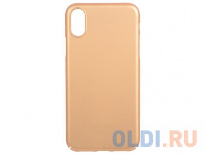 Фото «Чехол Deppa Air Case для Apple iPhone X/XS, золотой» в Новосибирске