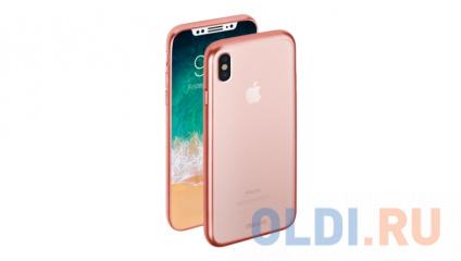 Фото «Чехол Deppa Gel Plus Case матовый для Apple iPhone X, розовое золото» в Нижнем Новгороде