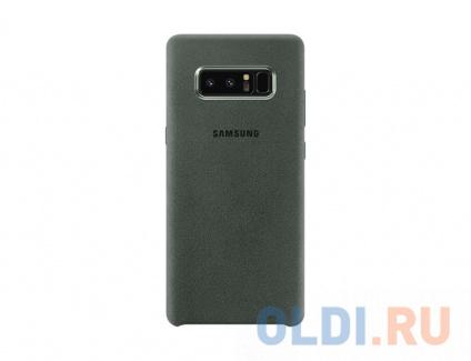 Фото «Чехол-накладка для  Samsung Galaxy Note 8 Samsung Alcantara Cover Great Khaki» в Екатеринбурге