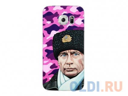 Фото «Чехол-накладка для Samsung Galaxy S6 edge Deppa Art Case Путин» в Новосибирске