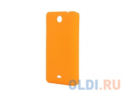 Фото «Чехол-накладка для Microsoft Lumia 430 Pulsar CLIPCASE PC Soft-Touch Orange» в Екатеринбурге