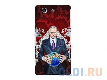 Фото «Чехол-накладка для Sony Xperia Z3 Compact Deppa Art Case Путин карта мира» в Новосибирске